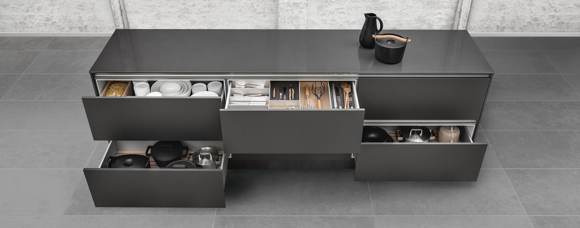SieMatic Interior Drawers